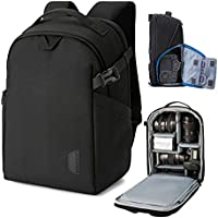 Bagsmart DSLR SLR Camera Backpack Fits up to 13.3 Inch Laptop