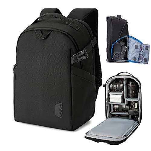 BAGSMART Camera Backpack, DSLR SLR Camera Bag Fits up...