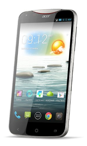 Acer Liquid S2 Smartphone, Display 6 pollici IPS-LCD, 2,2 GHz, Quad-Core, 2GB RAM, Fotocamera 13 MP, Android 4.2, Nero [Germania]