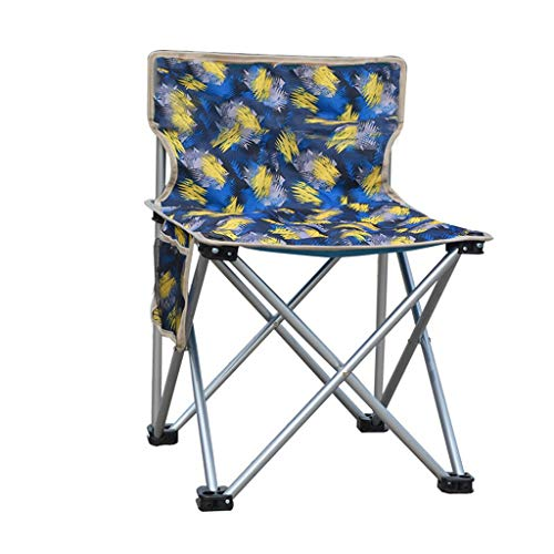 qidongshimaohuacegongqiyouxiangongsi angelausrüstung Klappstühle, tragbare Klappsessel Folding Angelstuhl tragbare Liegestühle, (Color : A)
