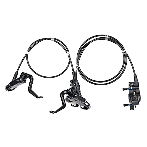 FDKJOK 1 Paar Fahrrad Hydraulische Bremse Fahrrad Scheibenölbremse Vorne Hinten Bremsset Für Mountainbike, Scheibenbremse Fahrrad Bremsscheiben, Hydraulische Bremsen Set(1Paar)