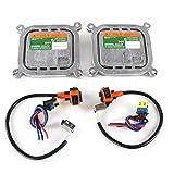 SINOCMP 2 piezas 8A5Z-13C170-A 10R-034663 Xenon HID balastos encendedor Set para Ford F-150 Flex Edge Explorer Mustang, 3 meses de garantía