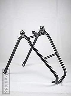 Dino Kiddo Black Rear Aluminum Triangle Rack for Brompton Folding Bike