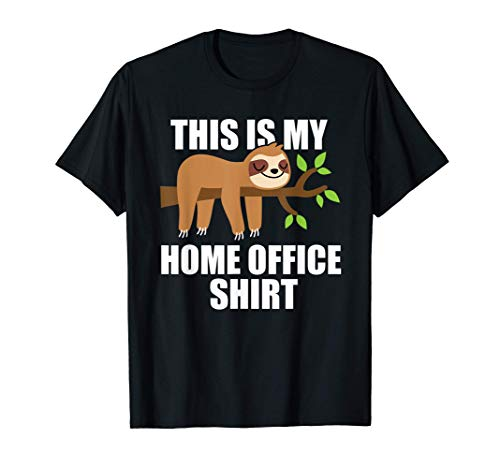 Geschenkidee This Is My Home Office T-Shirt