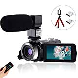 CofunKool Video Camera 1080P Camcorder 24MP FHD Vlogging Camera for YouTube,...