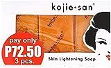 Kojie San - 6 Seifen da 65g Original and Authentic Skin Lightening Soap mit Acid Kojic (6 Seifen :...