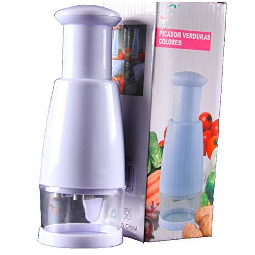 Ashley GAO Multi-Función Manual de Cebolla Picadora de Ajo Trituradora de Alimentos de Prensado Cortador de Verduras Pelador Picadora de Herramientas de Cocina