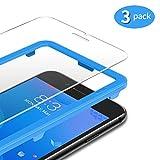 TAMOWA [3 Stück für Panzerglas Kompatibel für iPhone 8 Plus/iPhone 7 Plus/ 6s Plus/ 6 Plus (5,5 Zoll), Panzerglasfolie 9H Festigkeit für Panzerglas Schutzfolie mit Positionierhilfe, Anti-Kratzen, Anti-Öl