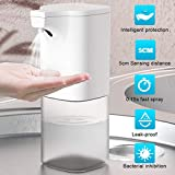 Dispensador Automático de Alcoholsin Dispensador Automático de Alcohol con Sensor 350 ml, Rociador de líquido sin Contacto para el hogar, la Oficina, el Hotel, el Hospital