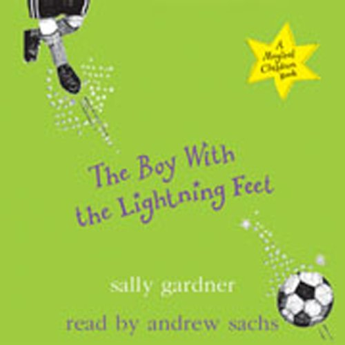 The Boy with the Lightning Feet audiobook cover art