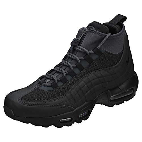 Nike Herren Air Max 95 Sneakerboot Trekking- & Wanderstiefel, Schwarz (Black/Black/Anthracite/White 001), 41 EU