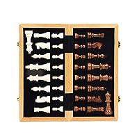 内部ストレージを備えたチェス高級木製チェスセット国際チェスゲームギフト折りたたみ式木製チェス盤チェスの駒チェスセット
