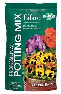 Fafard 6400204 Professional Potting Mix, 2 Cu. Ft. - Quantity 40