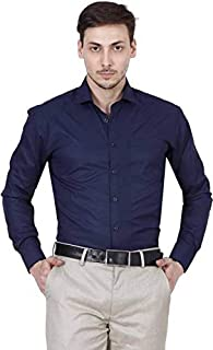 Raza Men's Regular Fit Full Sleeves Formal Shirt