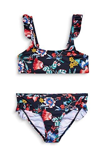 ESPRIT JASMINE BEACH YG bustier+brief Bikini-Set, Mädchen, Blau 152/158