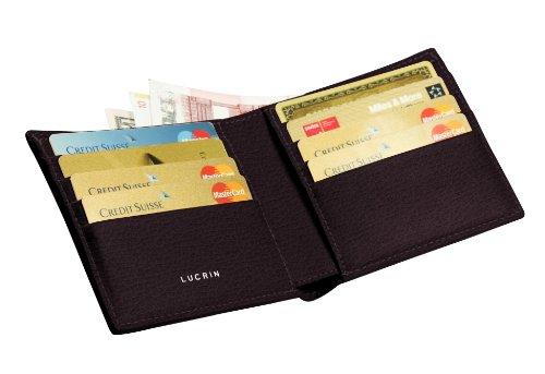Lucrin - Porta-carte di credito standard - Vacchetta ruvida - Pelle - Bord