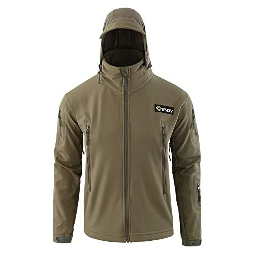 MILASIA heren softshell jas outdoor jas 6 kleuren S-3XL