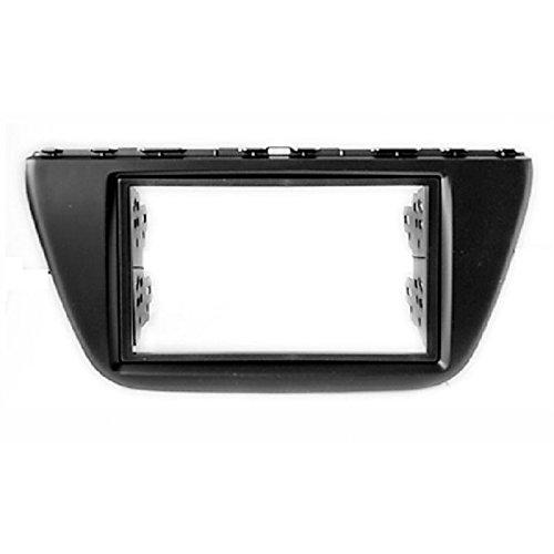 CARAV 11-438 2-DIN unità testa auto fascia facia montaggio cruscotto kit per Suzuki SX4, S Cross 2013+