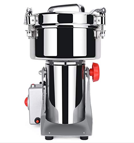 Bruce & Shark 700g Herb Grain Grinder Electric Mill Cereal Machine-High Speed/Durable Life