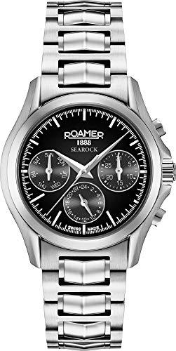 Roamer Reloj Analógico para Mujer de Cuarzo con Correa en Acero Inoxidable 203901 41 55 20