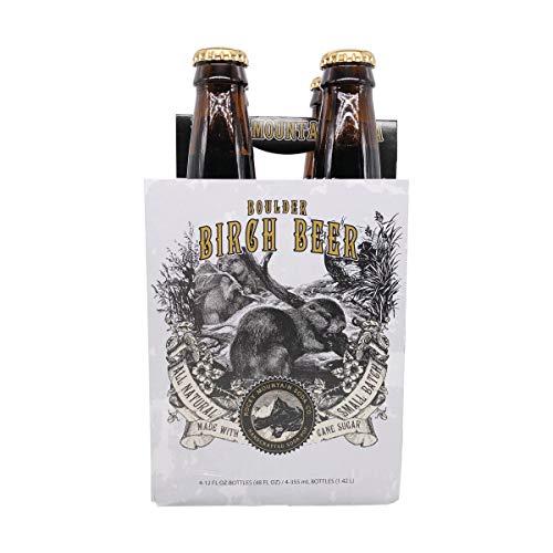 Rocky Mountain Soda Co, Soda Birch Beer 4 Count, 48 Fl Oz