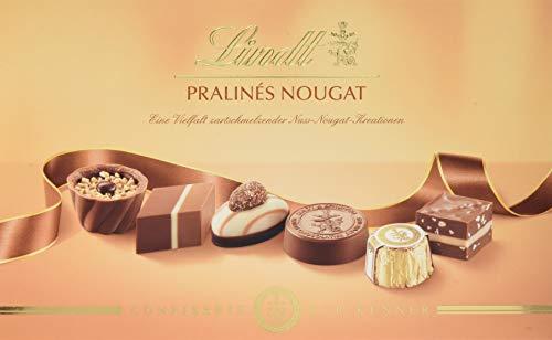Lindt Nougat Pralinen, Auswahl an Nougat-Köstlichkeiten, das ideale Pralinen Geschenk,2er Pack (2 x 200g)