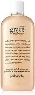 Philosophy Pure Grace Nude Rose Shampoo Bath and Shower Gel, 480ml