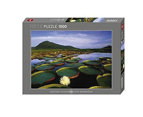 Heye 29593 - Alexander van Humboldt Victoria Lily 1000 delen standaard puzzel by Heye Verlag