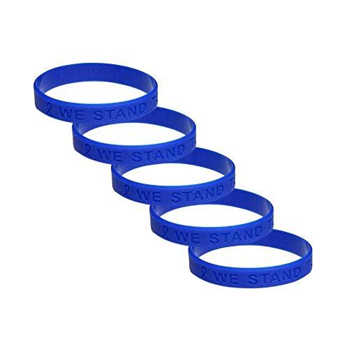 bracciali in gomma per cancro alla prostata