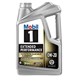 Mobil 1 Extended Performance Full Synthetic Motor Oil 0W-20,...