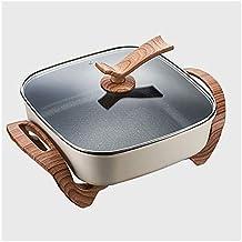 Sooiy Facile à Laver électrique Wok Hot Pot électrique Domestique Multi-Fonctions de Cuisson Fried Ragoût Un Pot cuisinièr...