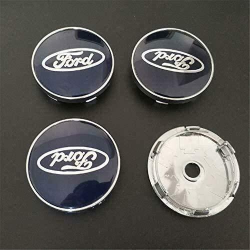 4 piezas, F-ord Tapa de buje central para rueda de coche, cubiertas con pegatinas con logotipo, molduras, accesorios para coche