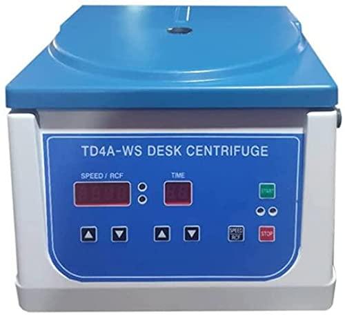 XJYDS PRP-Zentrifuge, Desktop 4000RPM-Beauty-Zentrifuge-Maschine mit niedriger Geschwindigkeit mit digitaler Anzeige für 2-5-7-10ml Blutsammelrohr, 12 * 15ml