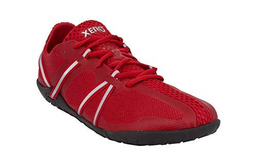 Xero Shoes Speed Force - Men's Barefoot, Minimalist, Lightweight Running Shoe Red