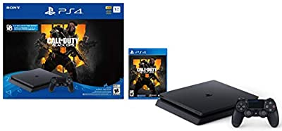 PlayStation 4 Slim 1TB Console - Call of Duty: Black Ops 4 Bundle [Discontinued]