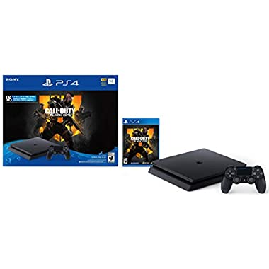 PlayStation 4 Slim 1TB Console – Call of Duty: Black Ops 4 Bundle [Discontinued]