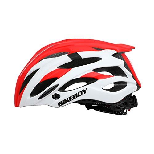SHUANGA Unisex Fahrradhelm MTB Rennrad Mountainbike Sport SchutzhelmUnisex Fahrradhelm Sportfahrschutzhelm Erwachsene Fahrradhelm, Radhelm, Cityhelm