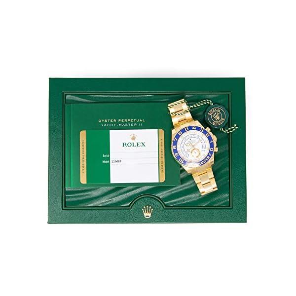 Fashion Shopping Men's 18K Gold Rolex Yachtmaster II Model # 116688