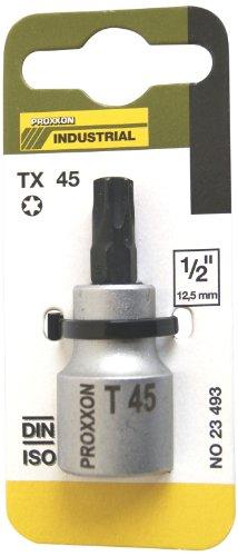 """Proxxon 23493 TORX sockets 1/2"""" (12.5 mm), 55 mm, T 45"""
