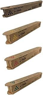 Ricoh 4-Color Toner Cartridge Complete Set for Aficio SP C840, C842