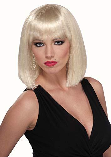 Forum Novelties Women's Vibe Wig, Blonde, One Size