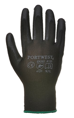Portwest PU Palm Glove couché (A120) noir XL