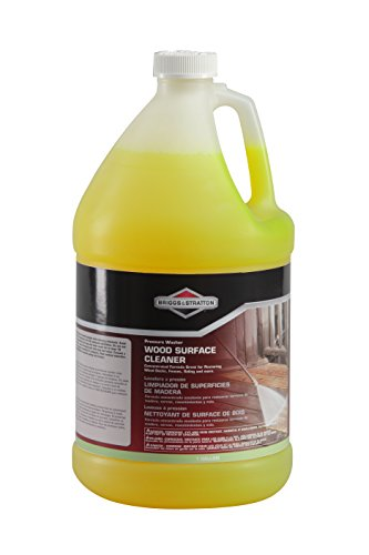 Briggs & Stratton 6827 Wood Surface Cleaner Concentrate for Pressure Washers, 1-Gallon