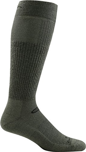 Darn Tough Tactical Mid Calf Light Cushion Sock - Foliage Green Large