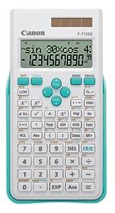 Calculadora científica Canon F-715SG Azul y Blanco