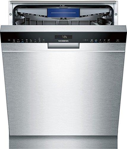 Lave vaisselle encastrable Siemens SN458S02ME - Lave vaisselle encastrable 60 cm - Classe A++ / 42 decibels - 14 couverts - Inox bandeau : Inox - Tiroir a couvert