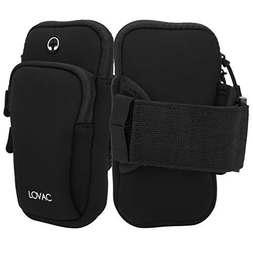 2pcs Tela Impermeable Tela Teléfono Móvil Bolso Bolso Bolsillo para Montañismo Fitness Corriendo Yoga Multifunción