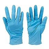Corysan 301529 - Guantes de nitrilo, color azul, L
