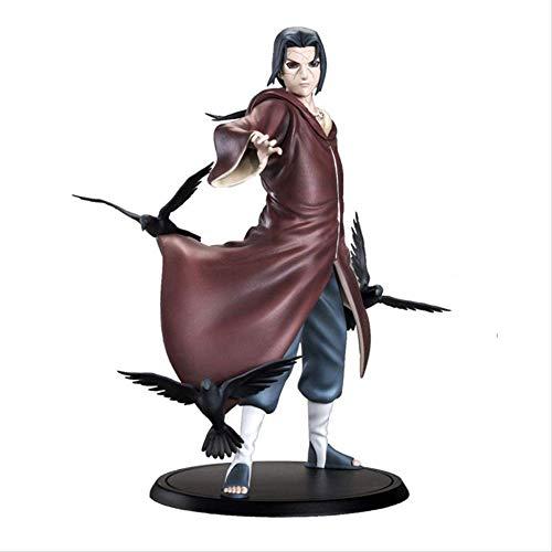 Missyou Anime Naruto Uchiha Itachi Figura De Acción Juguetes15Cm, PVC Uchiha Itachi Modelo Anime Figura Juguetes Modelo Coleccionable