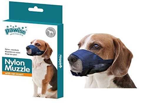 PETGARD Nylon Maulkorb Hundemaulkorb Beißkorb - Nylon Muzzle - XS